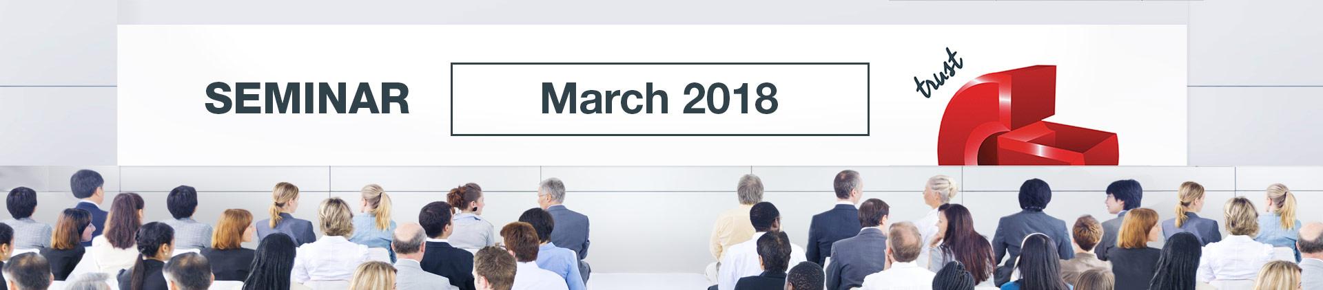 Guild Seminar - March 2018
